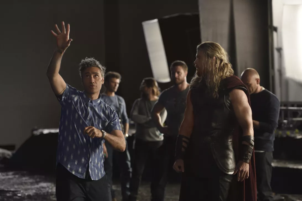 "Taika Waititi, director of ""Thor: Ragnarok"", started out as a short filmmaker. (Credit: Jasin Boland/Marvel Studios)."