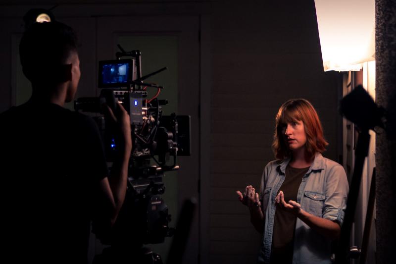 "On the set of ""Ellipsis"""