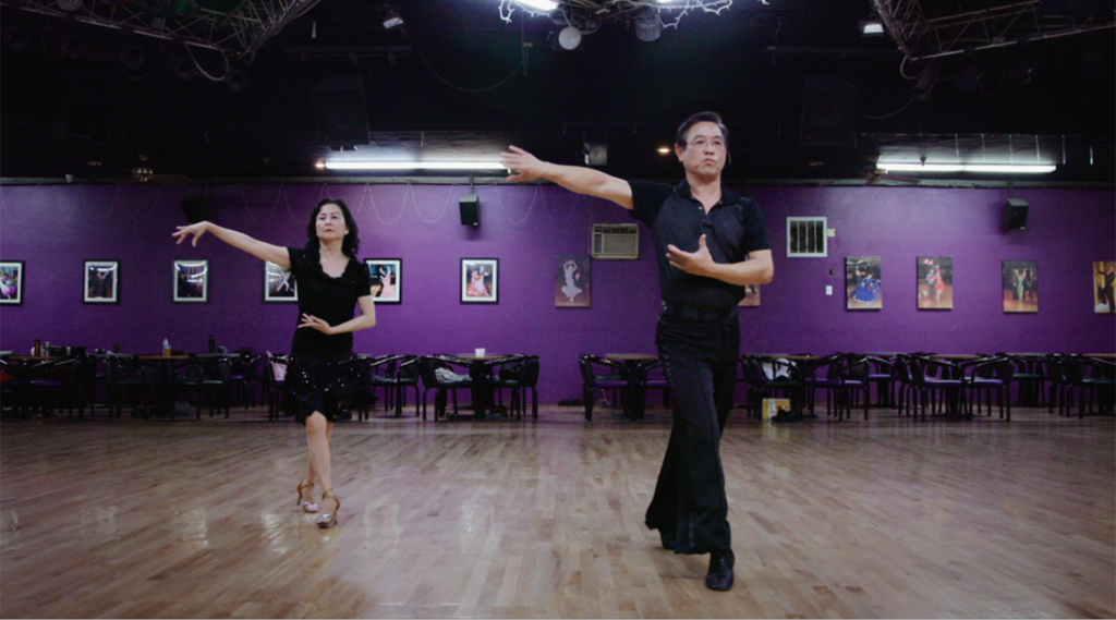 Paul and Millie Cao practicing in their favorite dance studio.