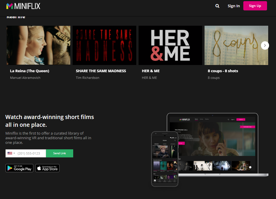 Miniflix is the first streaming service that puts the short filmmaker in control! We can help you launch a limited-time premiere!