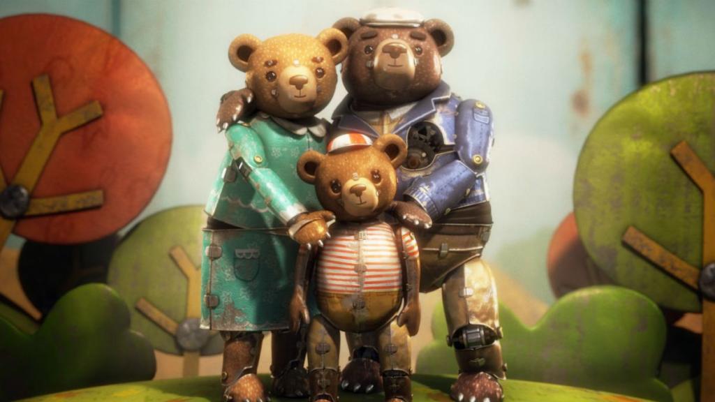 "Short film ""Bear Story"""