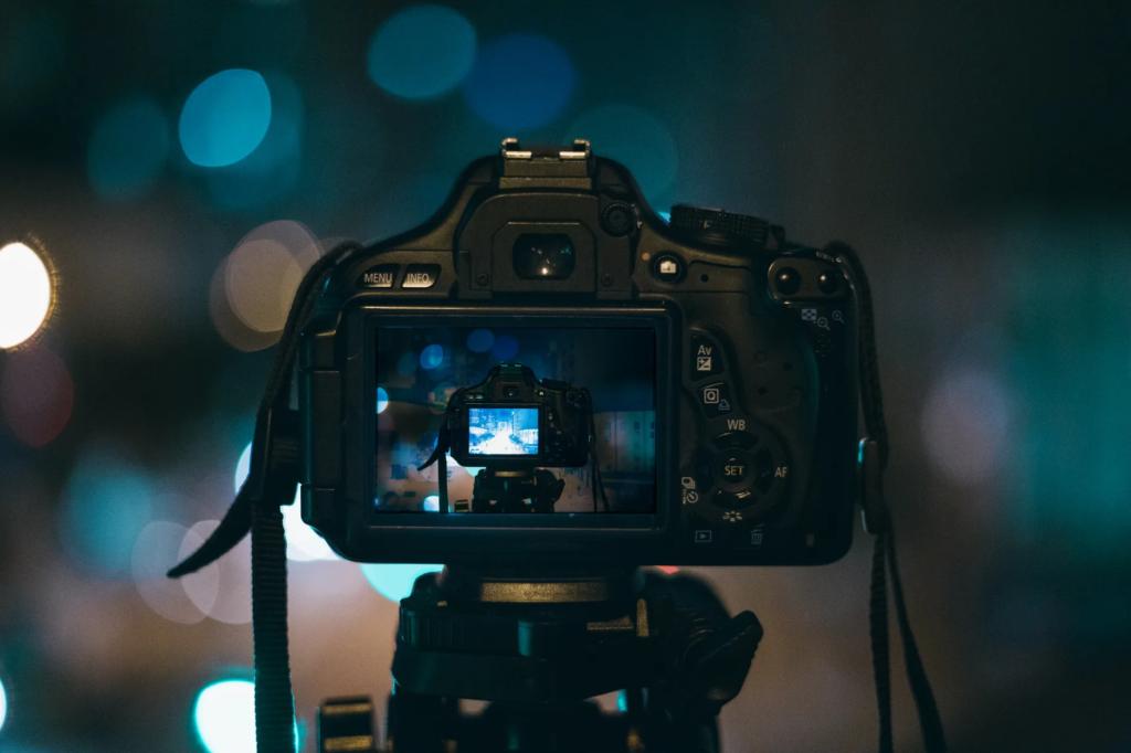 Camera Setup for filmmaking